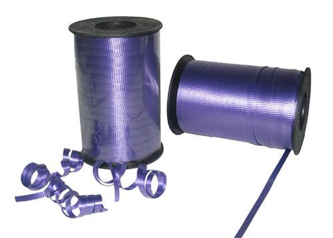 Purple Curly Ribbon 5mm X 500 Yards (1 Roll)