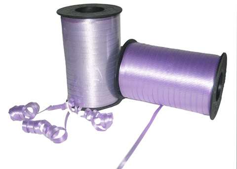 Lavender Curly Ribbon 5mm X 500 Yards (1 Roll)