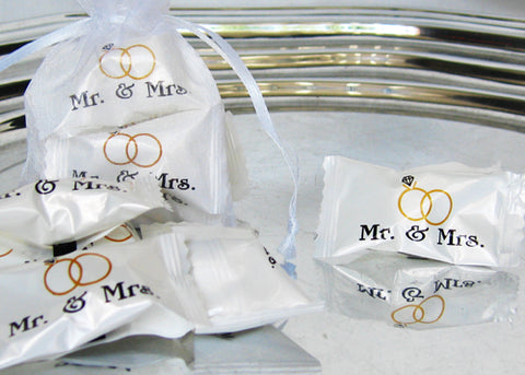 Mr & Mrs Butter Mints (50 pieces)