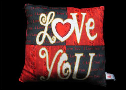 "15"" Square Love You Pillow(1 Piece)"
