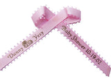 Picot Edge Personalized Ribbon