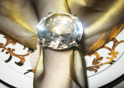 Diamond Napkin Ring (12 Pieces)