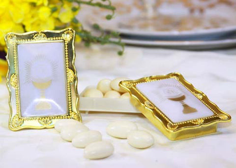 Plastic Communion Boxes (12 Pieces)