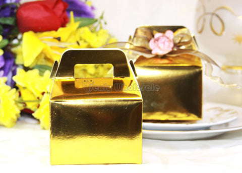 Gable Gift Box Gold (12 pieces)