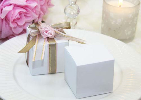 "2.25"" Square Paper Favor Box -12 Pcs"