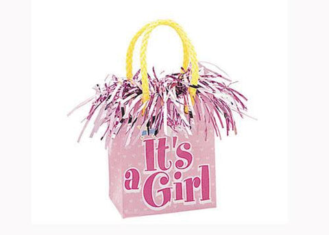 It's A Girl Balloon Weights (1 Piece)