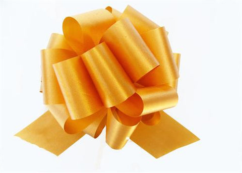 Large Gold Pull Bow (10 Pieces)