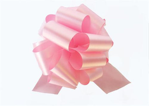 Large Pink Pull Bow (10 Pieces)