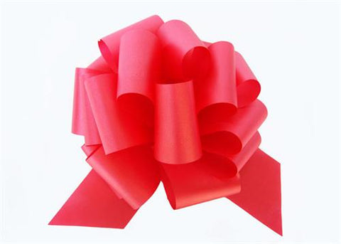 Large Red Pull Bow (10 Pieces)