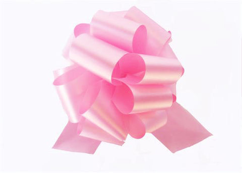 Large Hot Pink Pull Bow (10 Pieces)