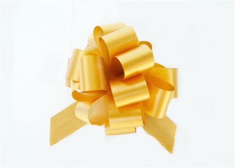 Medium Gold Pull Bow (10 Pieces)