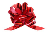 Medium Metallic Red Pull Bow (10 Pieces)