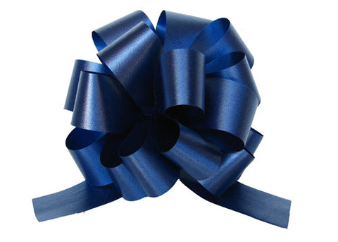 Medium Royal Blue Pull Bow (10 Pieces)
