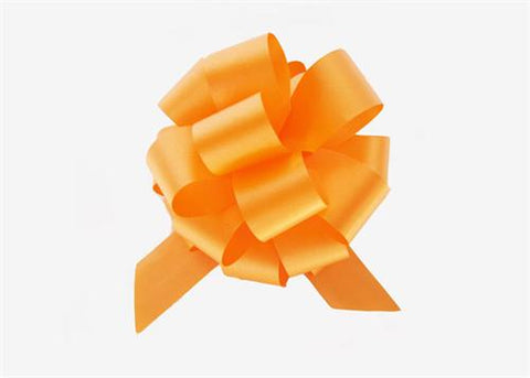 Medium Orange Pull Bow (10 Pieces)