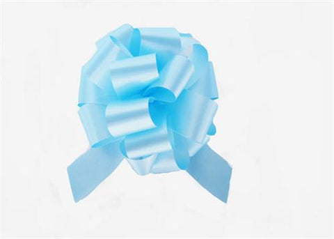 Medium Pastel Blue Pull Bow (10 Pieces)