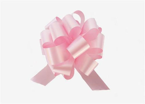Medium Pink Pull Bows (10 Pieces)