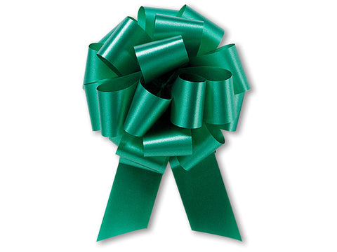 Medium Emerald Pull Bow (10 Pieces)