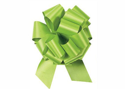 Medium Lime Green Pull Bow (10 Pieces)