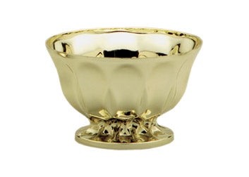 "Metallic Gold 6"" Plastic Revere Bowl (1 Piece)"