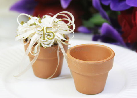 "2.5"" Small Terracotta Pot (12 Pieces)"