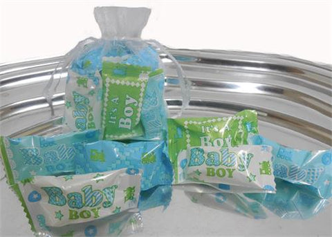 Baby Boy Butter Mints Multi Color Wrap (50 pieces)