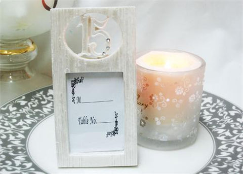 15 White White Picture Frame (12 Pieces)