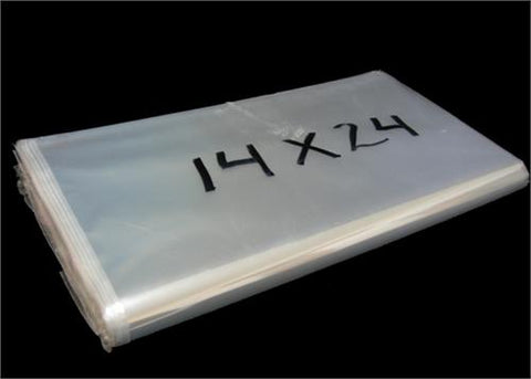 "14""x24"" Clear Cellophane Bag (100 Pieces)"