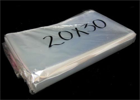 "20"" x 30"" Clear Cellophane Bag (100 Pieces)"