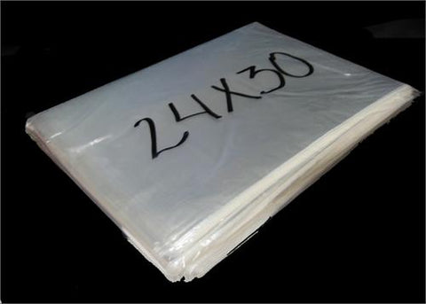 "24"" x 30"" Clear Cellophane Bag (100 Pieces)"