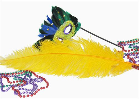 18 - 24 Inches Ostrich Dyed Yellow Feather (1 Piece)