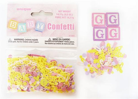 Baby Girl Confetti ( 0.5oz. Pack )