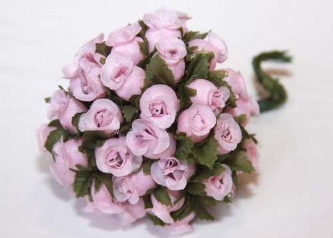 Pink Poly Rose Bud (144 Flowers)