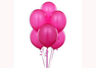 "12"" Pearl Tone Rose Pink Balloon(72 Pieces)"