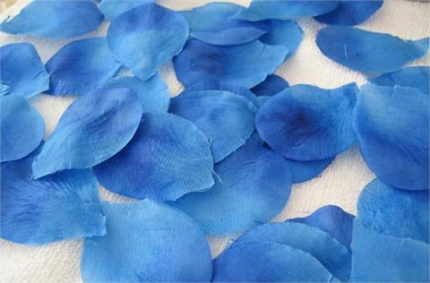Silk Rose Petals Royal Blue (1728PCS)