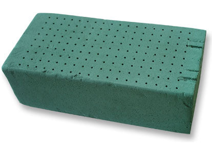 "9.5"" x 4"" x 3"" Wet Foral Foam Brick for Fresh Flower (1 Pieces)"