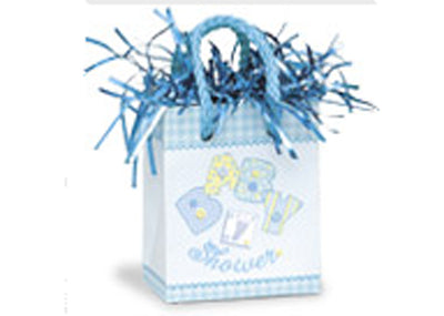 Stitching Baby Blue Balloon Weight (1 Piece)