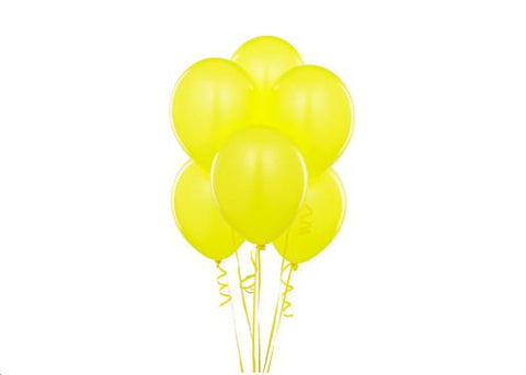 "12"" Yellow Balloon (72 Pieces)"