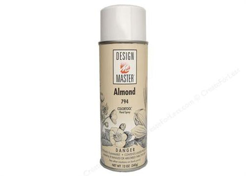 Design Master Almond Spray (12 oz)