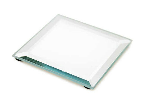 Centerpiece Mirror Tray Square 10""