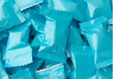 Caribbean Blue Butter Mints (50 pieces)