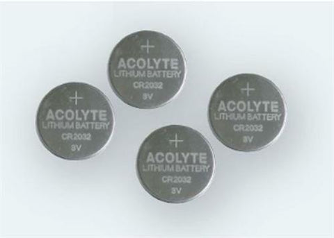 Coin Cell Battery  CR2032 (4units/ Pack)