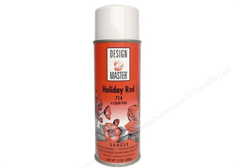 Design Master Holiday Red Spray (12 oz)