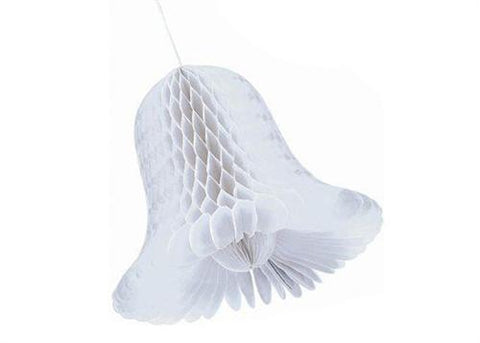 White Honeycomb Bell (1 Piece)