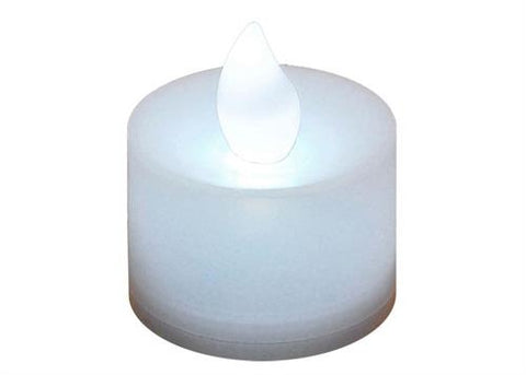 LED Flameless Tea Light Candle White (12 Pieces)