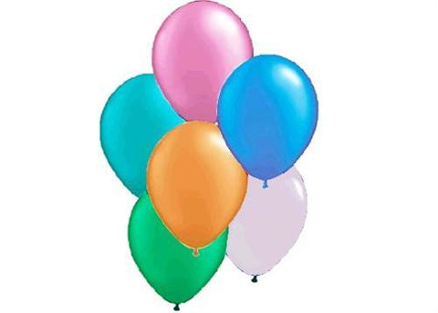"12"" Pearl Tone Assorted Pastel Colors Balloon (72 Pieces)"