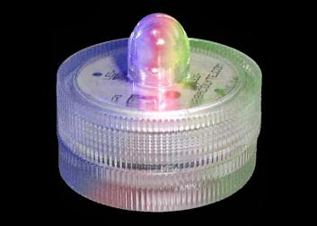 Multicolored Submersible Light (10 Pieces )