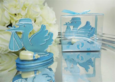 Delivery Stork - Baby Shower Favor Blue 12 pcs