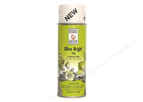 Design  Master Olive Bright Spray (12 oz)