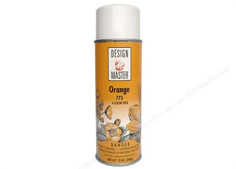 Design Master Orange Spray (12 oz)