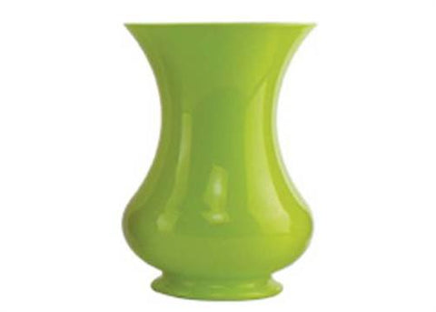 "8 1/2"" Green Pedestal Vase (1 Piece)"